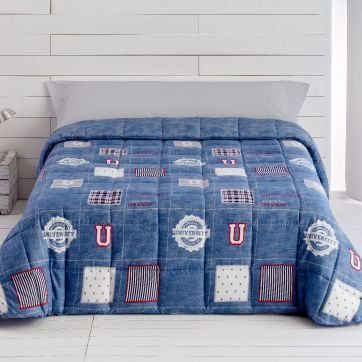 "Edredón Comforter ""University"" Reversible"