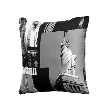 "Cojín ""Manhattan"" Microfibra 50x50 cm"