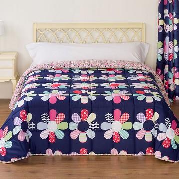 "Edredón Comforter ""Violeta"" Reversible"