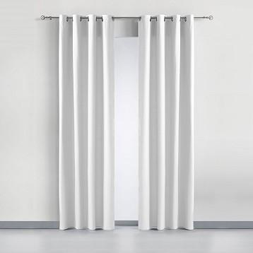 """Cortina Loneta """"Basic"""" Anillas 140x260 cm"""