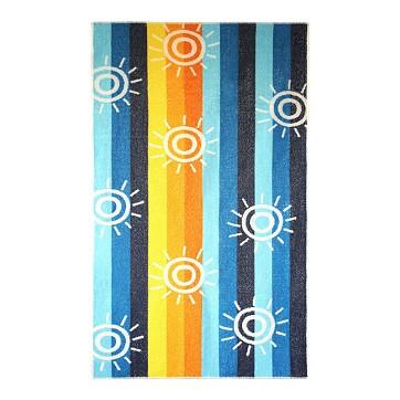 "Toalla Playa ""Summer"" Terciopelo 70x140 cm"