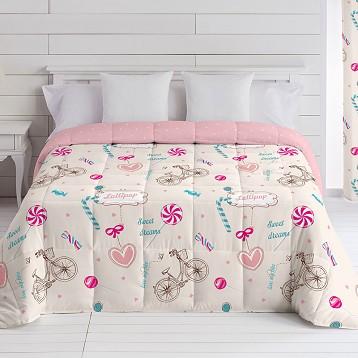 "Edredón Comforter ""Lollipop"" Reversible"